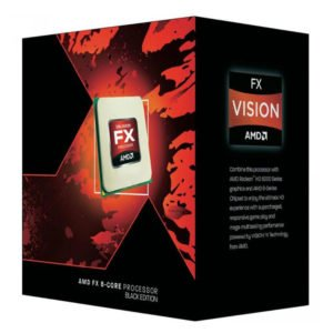 PROCESSADOR AMD FX-8350 AM3+ 4.0GHZ BLACK EDITION FD8350FRHKBOX