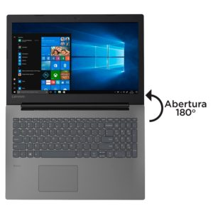 Notebook Lenovo B330-15IKBR Intel Core i3-7020U, RAM 4GB, HD 500GB, 15.6″, Windows 10 Pro – 81M10000BR