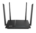Roteador Wireless D-Link Gigabit AC1200 Dual Band DIR-825 4 Antenas