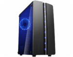 Gabinete K-Mex Gamer Blue Matrix – CG-06R8